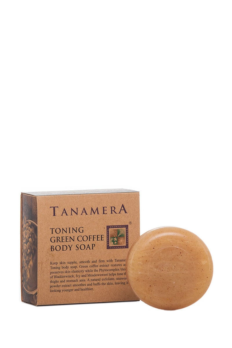 Toning Green Coffee Body Soap