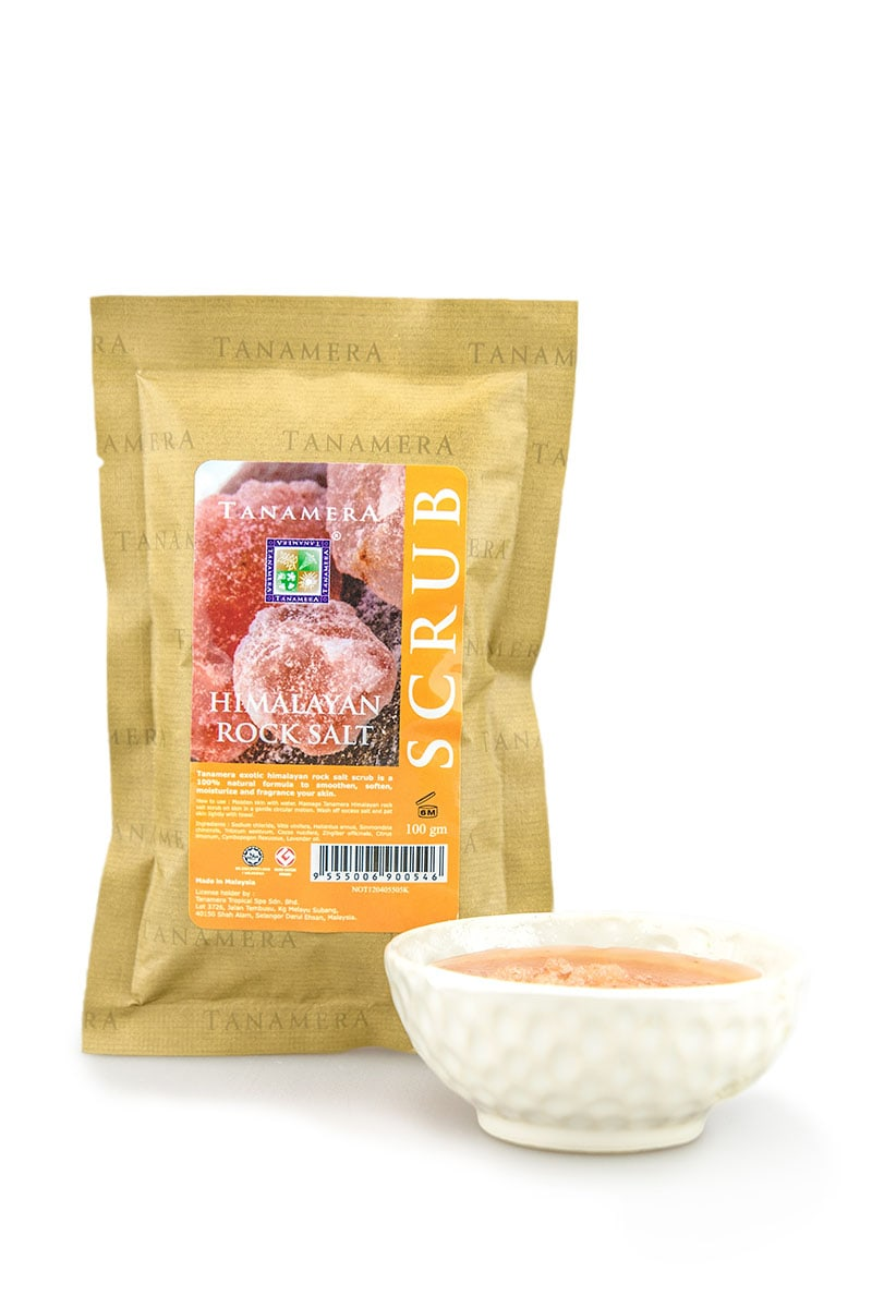 Himalayan Rock Salt Scrub