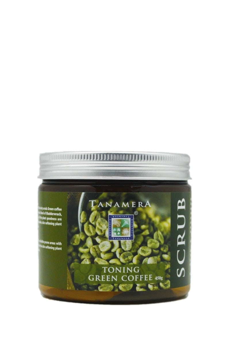 Toning Green Coffee Body Scrub