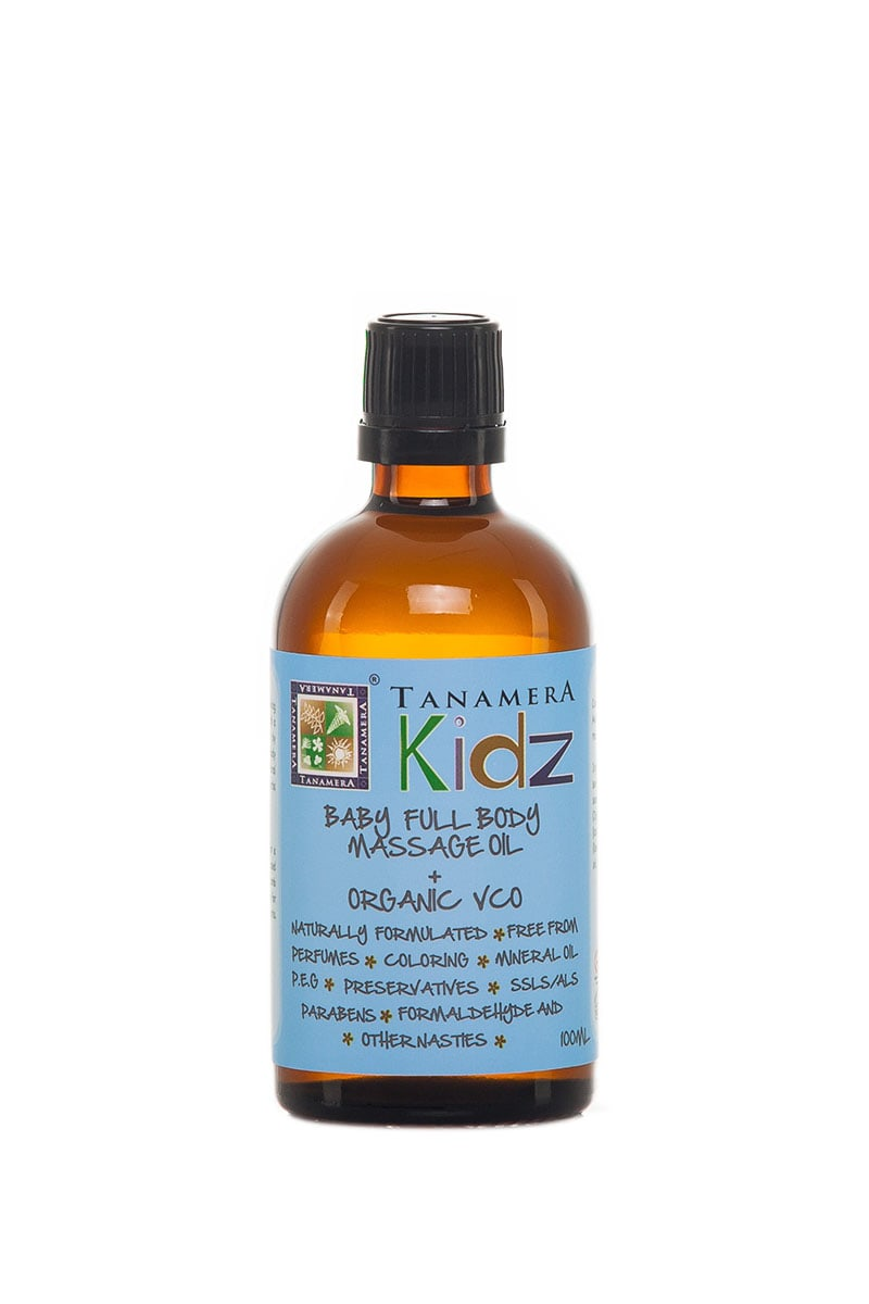 Kidz Baby Full Body Massage Oil + Organic VCO